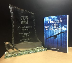 Chocolate Lily award & book